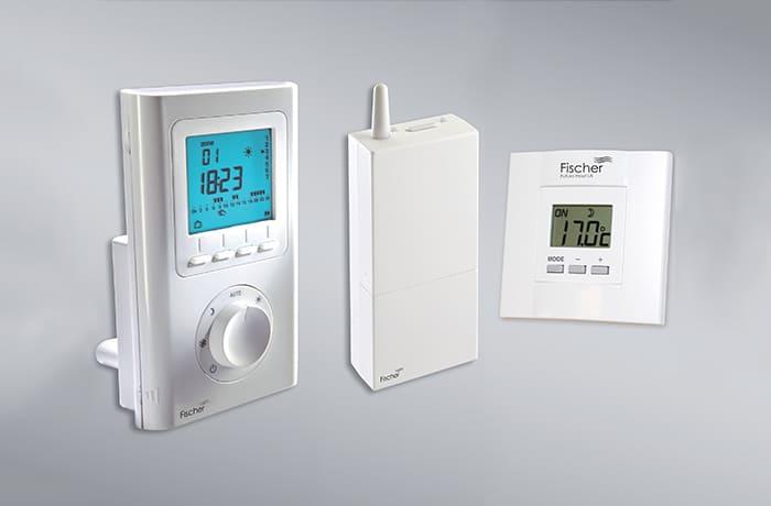 kabelloses thermostat f r heizungen von fischer future heat. Black Bedroom Furniture Sets. Home Design Ideas